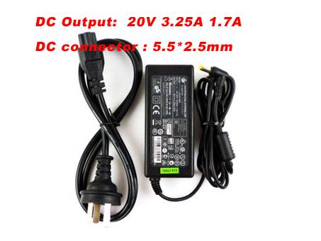 C5 100~240V /50-60 HZ 1.7A 20V 3.25A adapter