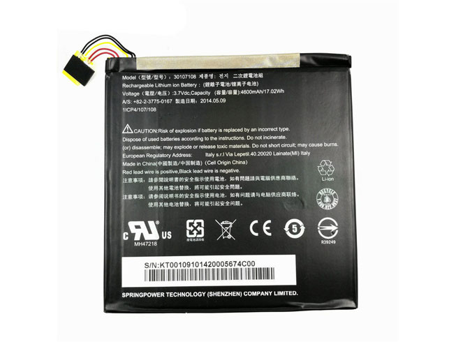 30107108 Batterie ordinateur portable