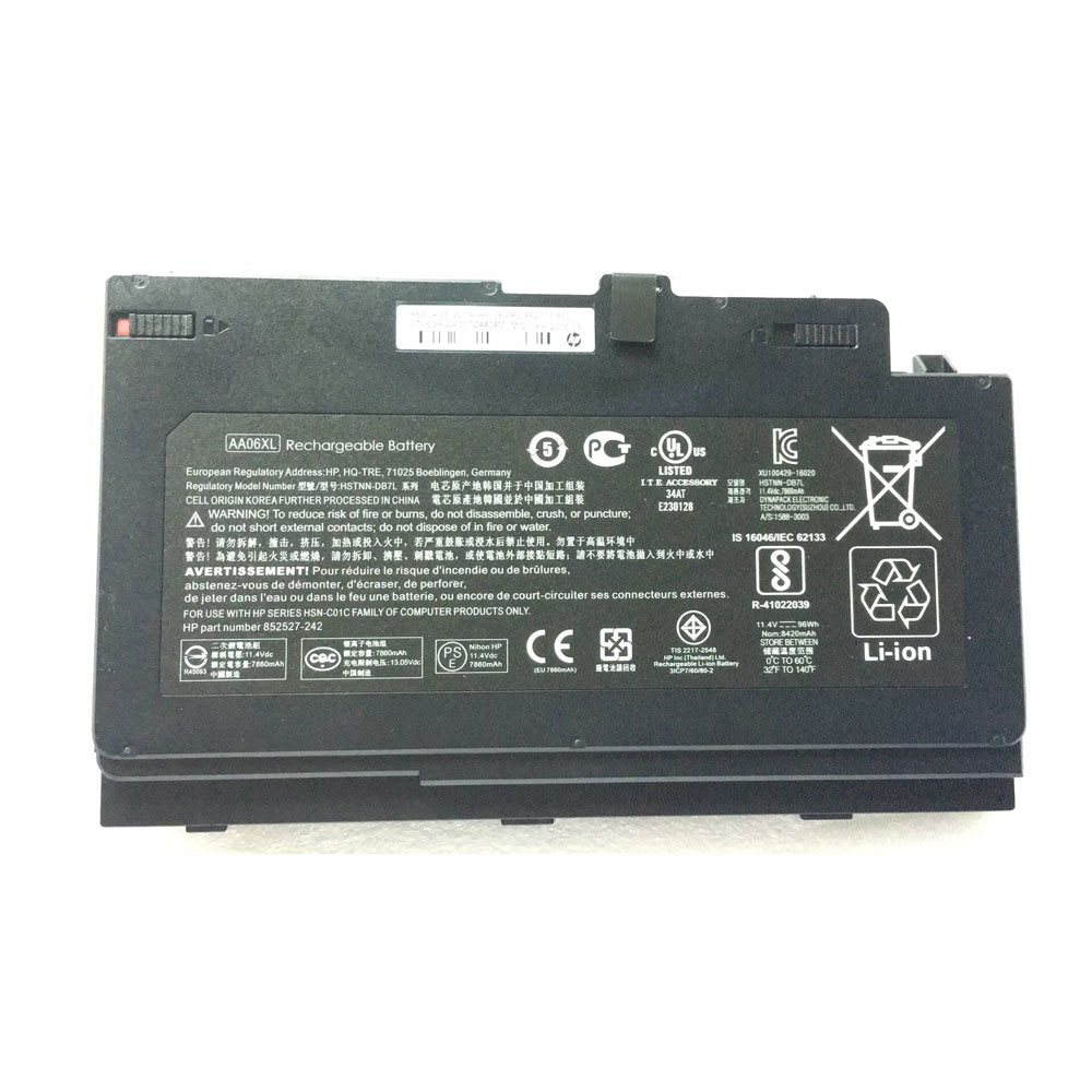 AA06XL Batterie ordinateur portable