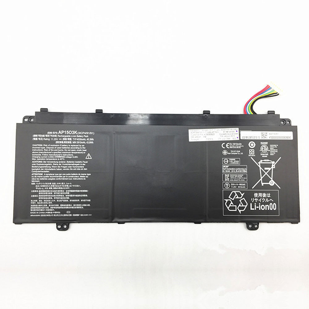 AP1503K Batterie ordinateur portable