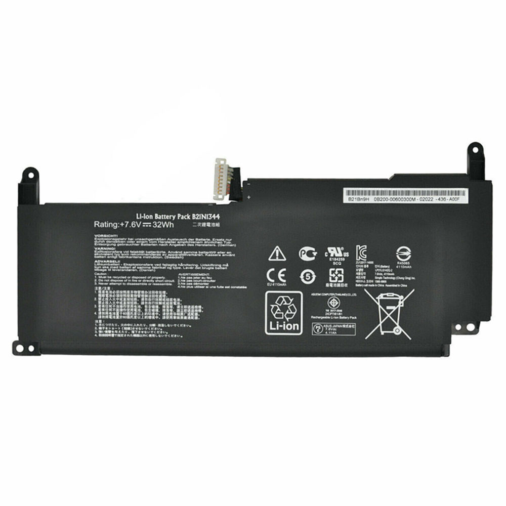B21N1344 Batterie ordinateur portable