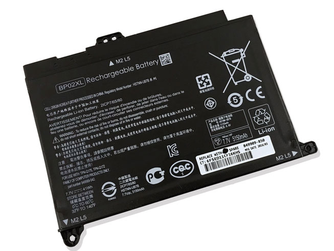 BP02XL pc batterie