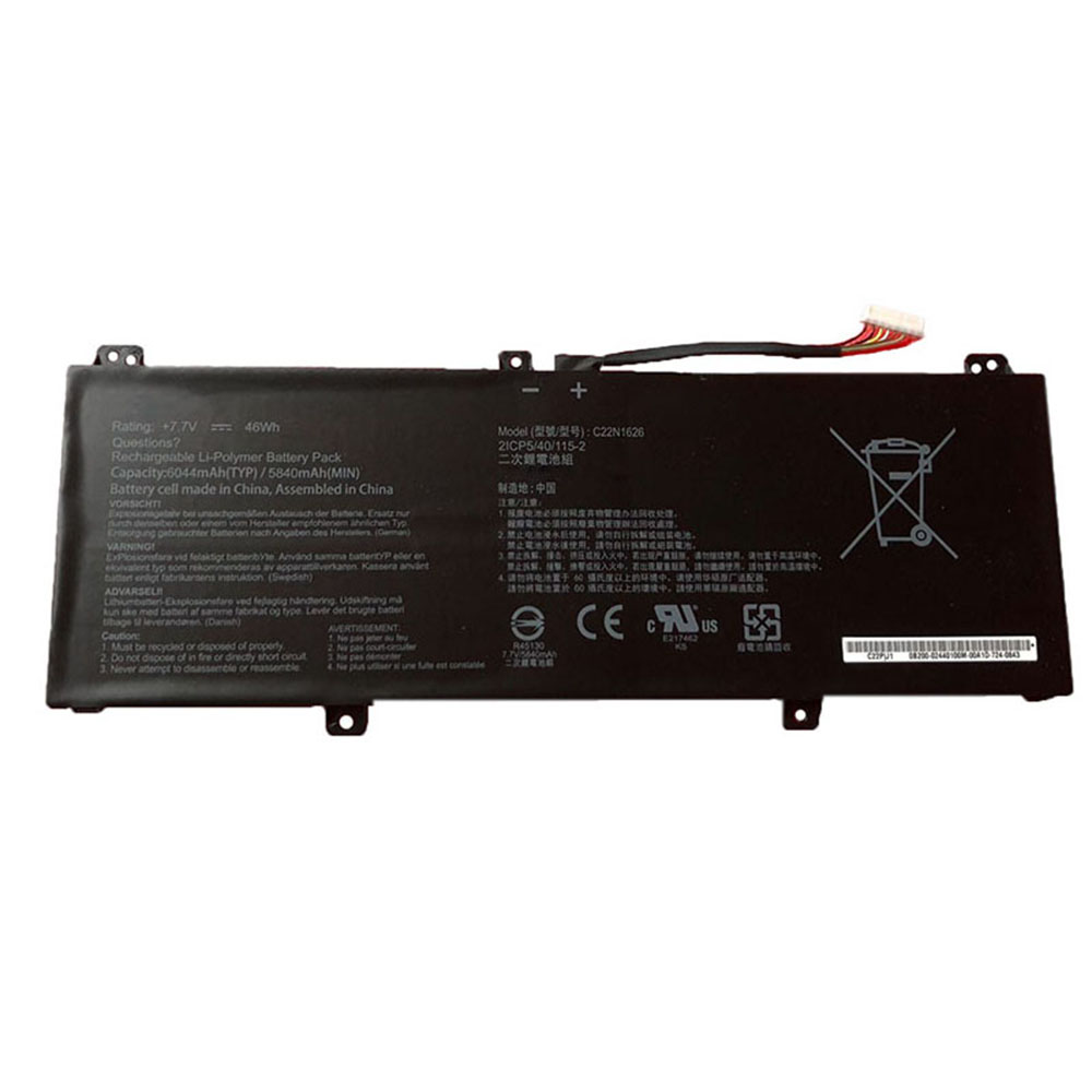 C22N1626 Batterie ordinateur portable