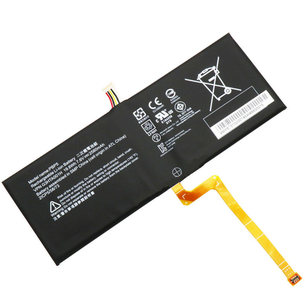 G3HTA001H Batterie ordinateur portable
