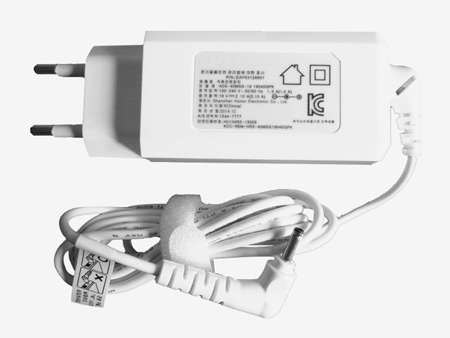 EAY63128601 AC 100-240V 50/60Hz 1.0A 19V 2.10A 40W adapter