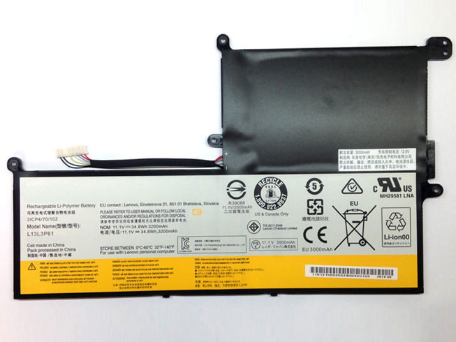 L13L3P61 Batterie ordinateur portable