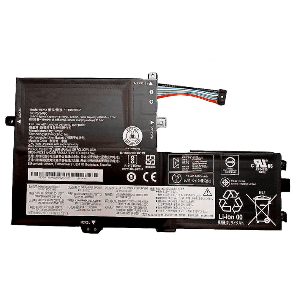 L18C3PF7 Batterie ordinateur portable