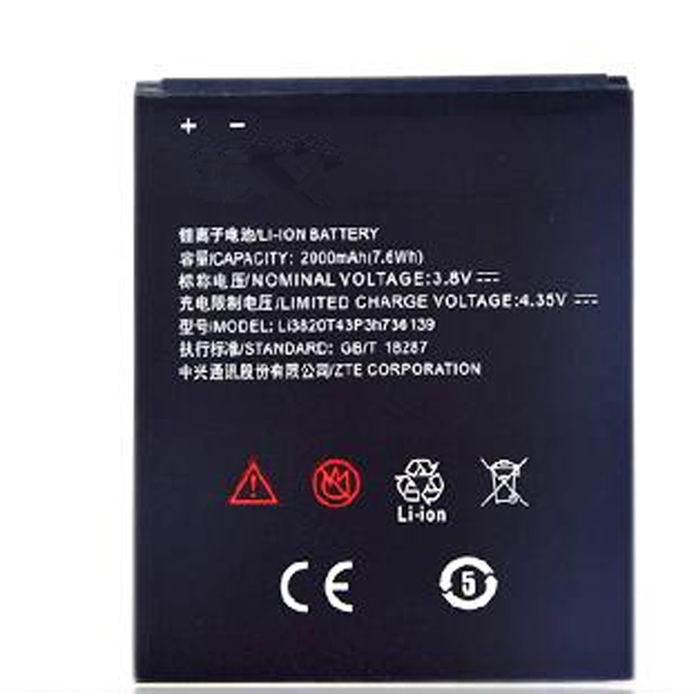 Li3820T43P3h736139 Batterie ordinateur portable