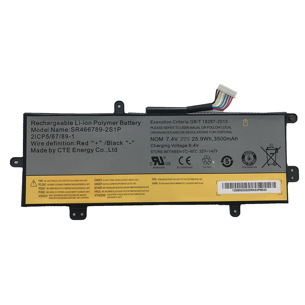 SR466789-2S1P Batterie ordinateur portable