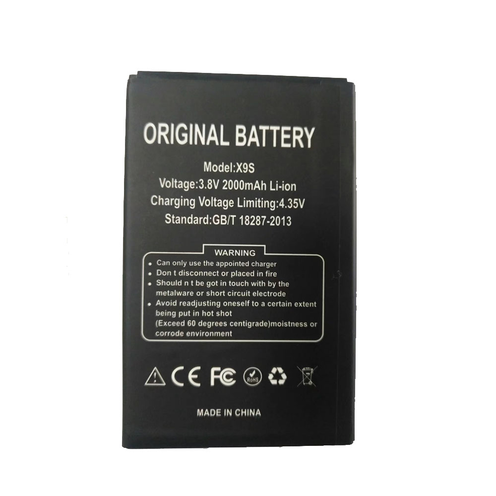 X9S Batterie ordinateur portable